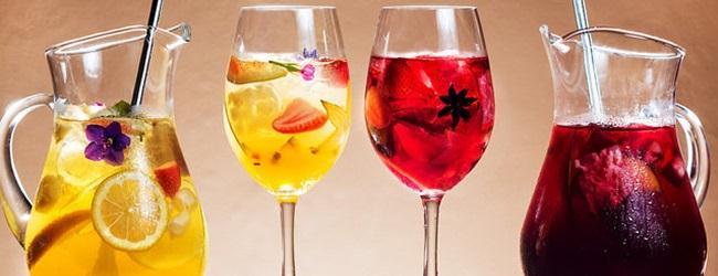 Novos drinks: Sangria e Clericot